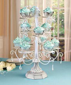 Chandelier Cupcake Stand So Elegant Pretty