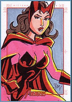 SCARLET.WITCH .by.Cal.Slayton