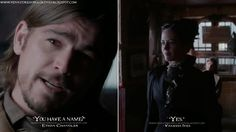 Ethan Chandler: You have a name? Vanessa Ives: Yes. Ethan Chandler Quotes, Vanessa Ives Quotes, Penny Dreadful Quotes