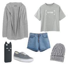 """""""Untitled #257"""" by rayame ❤ liked on Polyvore featuring Vans, N.Peal Cashmere and Eugenia Kim"""