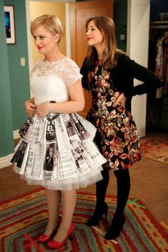 NBC - Parks and Rec, perfect wedding dress!