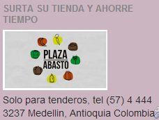 PLAZA ABASTOS (Medellín Colombia) SIMPLEMENTE.... PARA TENDEROS