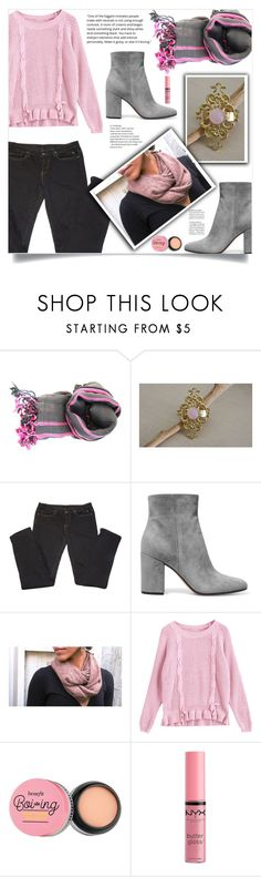 """Casual!"" by samra-bv ❤ liked on Polyvore featuring Rick Owens, Gianvito Rossi and Charlotte Russe"