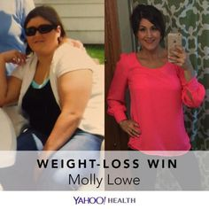 Weight-Loss Win is an original Yahoo Health series that shares the inspiring stories of people who have shed pounds healthfully. Molly Lowe is 28, 5′9″, and currently weighs 161 pounds. In January 2014, she weighed 267 pounds. This is the story of her weight-loss journey.
