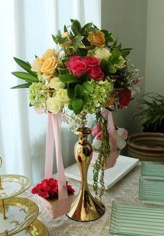 Rangkaian bunga+ toys
