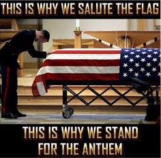 This is why we stand for the anthem