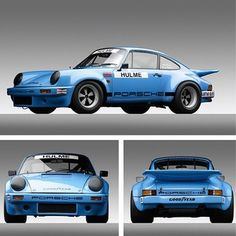 I LOVE the IROC Look... I plan on doing this to my 911SC #porsche #motorsports