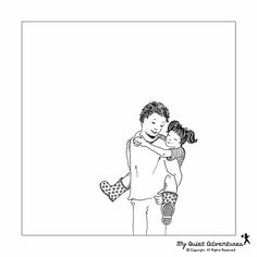 Happy Father's Day from My Quiet Adventures - Picture Books for Highly Sensitive Children