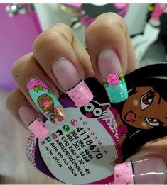 Ombre Nail Designs, Diy Nail Designs, Colorful Nail Designs, Nail Saloon, Different Nail Designs, Chic Nails, Nail Decorations, Nail Arts, Manicure And Pedicure