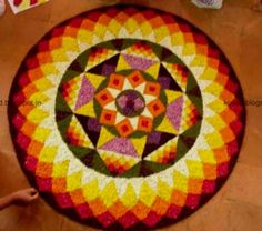 Onam Pookalam Designs And Themes For Competitions - Life Chilli