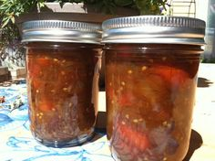 Cherry tomatoes with Caramelized onion and Balsamic Honey sauce for canning.  only made enough for about 4 1/2 half pint jars.