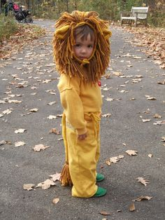 Cowardly Lion- totally asked him and showed him  the picture--- He loved it!!
