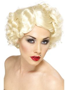 Looking for Hollywood Icon Wig,Blonde? Get it from our wholesale Razzle Fancy Dress range today. Visits Smiffy's wholesale for all your Adult Fancy Dress needs today. 1920s Fancy Dress, Fancy Dress Womens, Fancy Dress Wigs, Adult Fancy Dress, Marilyn Monroe Fancy Dress, Marylin Monroe, Glamour Party, Blonde Bob Wig, Short Blonde