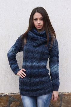 Ръчно плетени дрехи и аксесоари от Фаена / Пуловери, блузи, топ, потници