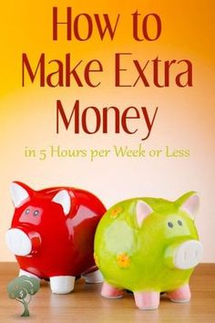 Big list of ways to make extra money without an big long-term commitment