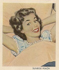 "fuckyeahvintage-retro: "" Sleepytime (via ondiraiduveau) "" Retro Images, Vintage Images, Vintage Advertisements, Vintage Ads, Vintage Stuff, Vintage Items, Pin Up Girl Tattoo, Vintage Housewife, Woman Illustration"