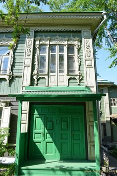 An old house in Tomsk