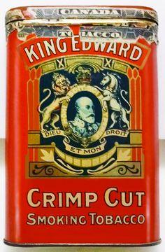 Pocket Tobacco Tin - King Edward