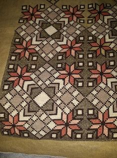 Crochet Tablecloth, Cross Stitch Designs, Diy And Crafts, Rugs, Patterns, Decor, Art, Centre, Embroidery