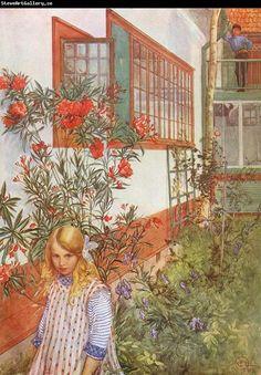 Versoja Vaahteramäeltä: Carl Larssonin puutarhassa