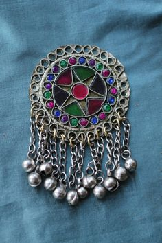 Round star tribal embellishment £7 (look lovely on headdresses and belts)