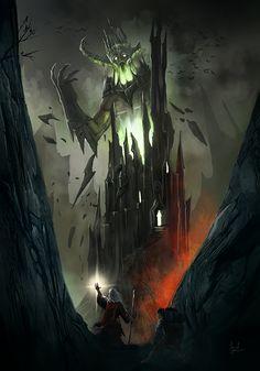 Giant of the Tower by gkb3rk.deviantart.com on @deviantART