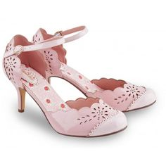 Chaussures Escarpins Vintage Pin-Up Rockabilly 50's Glamour Louise