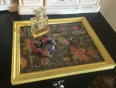 A personal favorite from my Etsy shop https://www.etsy.com/listing/270804865/vintage-vanity-tray-shabby-chic