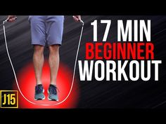 17 Min Beginner Jump Rope Workout | At Home Exercise | Jump 15 - YouTube Beginner Jump Rope Workout, Best Jump Rope, At Home Workouts, Exercise, Link, Youtube, Ejercicio, Excercise, Work Outs