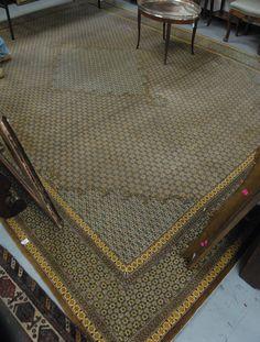 "Qum carpet. 10'1"" x 13'9"" - Realized Price: $3,120.00"