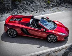 Luxury Cars  :   Illustration   Description   McLaren MP4-12C Spider