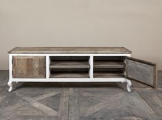 Riviera Maison Kast : Gave kast driftwood flatscreen sidetable rm