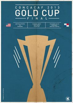 Gold Cup Final poster