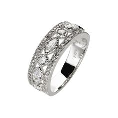 Oxette Silver 925 Ring with zircons - Available here http://www.oxette.gr/kosmimata/daktulidia/silver-ring-wint-cz-oxette-609l-1/      #oxette #OXETTEring #jewellery