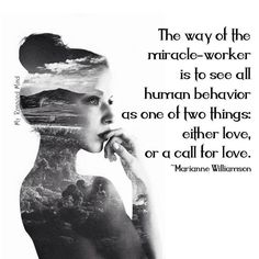 Marianne Williamson quote. There is healing and freedom in that