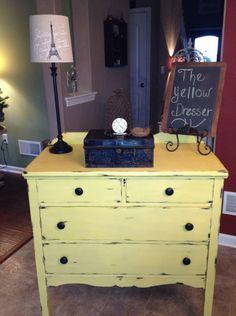 Yellow Dresser #1.......CeCe Caldwells California Sun
