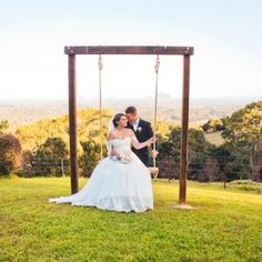 A colorful and quaint Gold Coast wedding in amazing Australia.