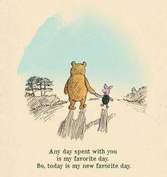 Any day...