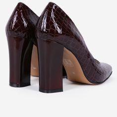 Pantofi din piele naturala maro Henley Peep Toe, Shoes, Fashion, Moda, Zapatos, Shoes Outlet, Fashion Styles, Fasion, Footwear