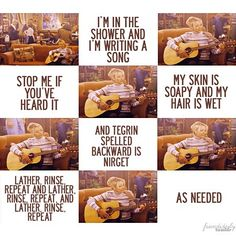 Phoebe's songs   #FRIENDS
