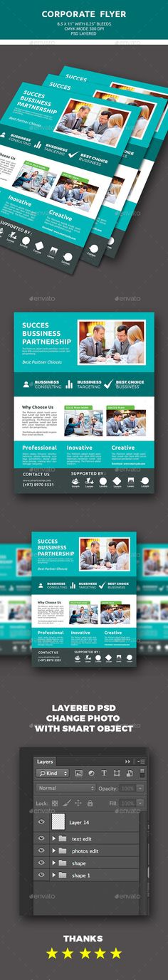 Bussiness Flyer Flyers, Flyer design and Brochures - law firm brochure