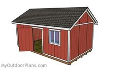 12x20 Shed Plans | Free Outdoor Plans - DIY Shed, Wooden Playhouse, Bbq, Woodworking Projects