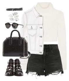 Sem título #4964 by fashionnfacts on Polyvore featuring polyvore, mode, style, Roberto Cavalli, MANGO, Alexander Wang, Givenchy, STELLA McCARTNEY, Candie's, Christian Dior, Yves Saint Laurent, fashion and clothing