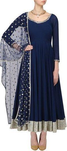 Salwar Kameez: Indian Salwar Suits Casual & Party Wear Attire Elegant Indian salwar kameez Click Visit link for Party Wear Indian Dresses, Dress Indian Style, Indian Gowns, Indian Attire, Pakistani Dresses, Indian Wear, Indian Outfits, Indian Suits Punjabi, Salwar Suits Party Wear