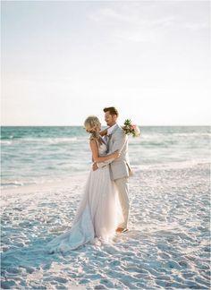 beach wedding pictures The Leaked Secrets to Dream Wedding Beach Disclosed Wedding Fotos, Beach Wedding Photos, Beach Wedding Photography, Wedding Beach, Wedding Hair, Beach Elopement, Photography Poses, Beach Wedding Groom Attire, Sunset Beach Weddings