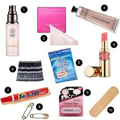 What to Pack in a Bridal Bag | POPSUGAR Beauty