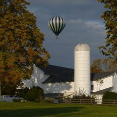 hot air balloons and barns. What NJ is all about. Well, the area I am most familiar with anyway!