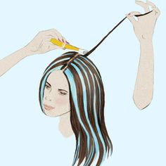 6 Tips for Giving Yourself Incredible At-Home Hair Highlights: http://www.womenshealthmag.com/beauty/how-to-highlight-your-own-hair?cm_mmc=pinterest-_-womenshealth-_-content-beauty-_-athomehighlights