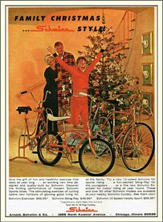 Schwinn Bicycle: Family Christmas (1965)