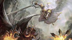 Saint Michael Defend Us In Battle